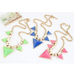 Bold Triangle Statement Necklace - Florence Scovel - 2