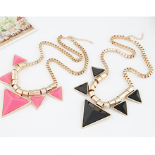 Bold Triangle Statement Necklace - Florence Scovel - 5