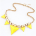 Bold Triangle Statement Necklace - Florence Scovel - 6