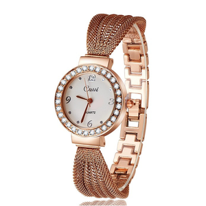 Fancy Gold Plated Watch - Florence Scovel - 4