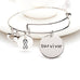 Survivor Charm Bangle - Florence Scovel - 1