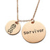 Survivor Necklace - Florence Scovel - 4