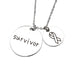 Survivor Necklace - Florence Scovel - 3