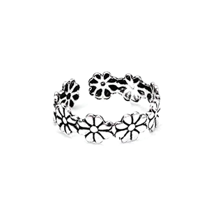 Floral Crown Toe Ring - Florence Scovel - 3