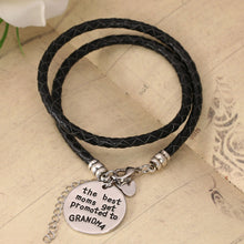 The Best Moms Get Promoted to Grandma - Handstamped Bracelet - Florence Scovel - 2