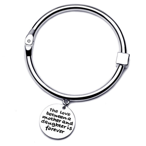 The Love Between Mother and Daughter Bangle - Florence Scovel - 1