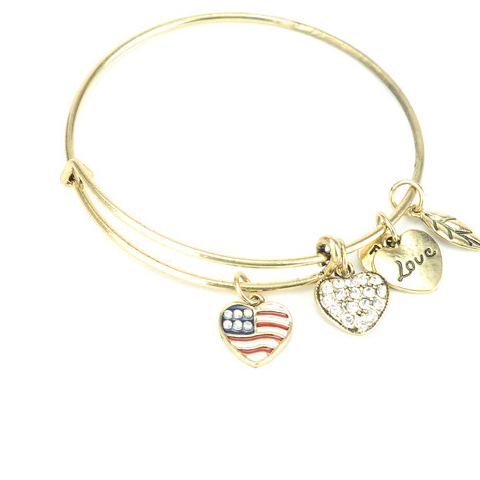 Patriot Love Charm Bangle - Florence Scovel - 1