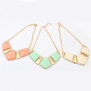 Candy Color Collar Statement Necklace - Florence Scovel - 4
