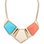 Candy Color Collar Statement Necklace - Florence Scovel - 5