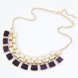 Bling Statement Necklace - Florence Scovel - 4