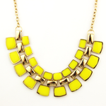 Bling Statement Necklace - Florence Scovel - 3