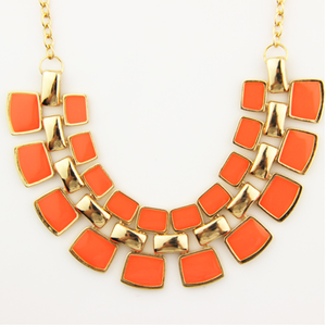 Bling Statement Necklace - Florence Scovel - 5
