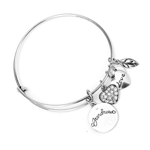 Grandma Love Charm Bangle - Florence Scovel - 1