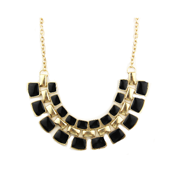 Bling Statement Necklace - Florence Scovel - 1