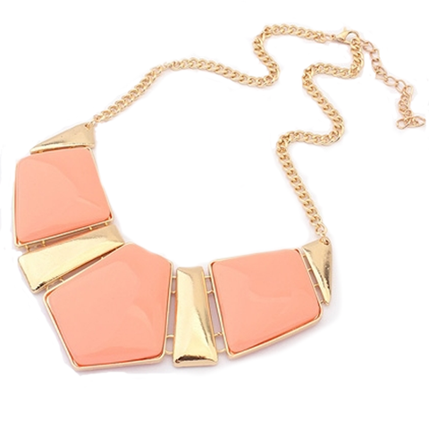 Candy Color Collar Statement Necklace - Florence Scovel - 1