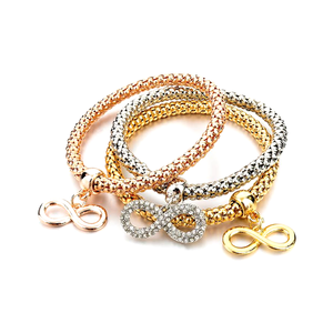 Mesh Multi-layer Three Color Bracelet - Florence Scovel - 3