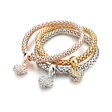 Mesh Multi-layer Three Color Bracelet - Florence Scovel - 2