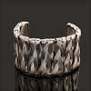 Silver Weave Bangle - Florence Scovel - 2