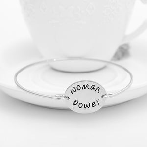 Woman Power Bangle - Florence Scovel - 2