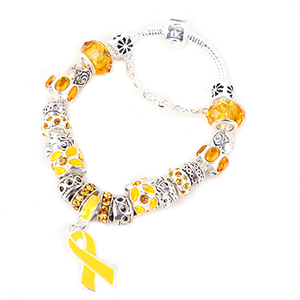 Yellow Ribbon Awareness Bracelet - Florence Scovel - 2