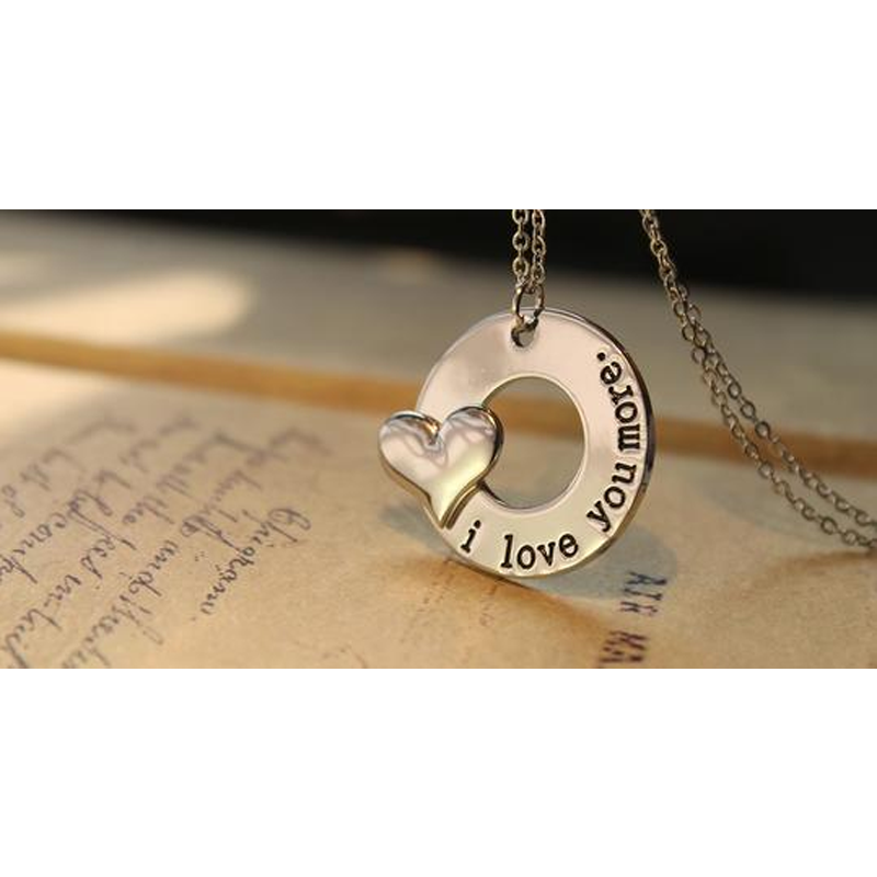 I Love You More - Pendant Necklace