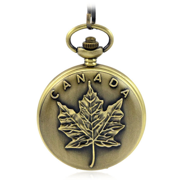 Canada 150th Birthday Celebration Pocket Watch