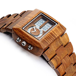 Luxury Sandalwood Analog Watch - Florence Scovel - 3