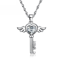 Angel Love Pendant & Men's Bracelet Set - Florence Scovel - 2