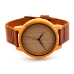 Natural Brown Wooden Watch - Florence Scovel - 2
