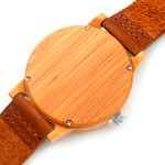 Natural Brown Wooden Watch - Florence Scovel - 3