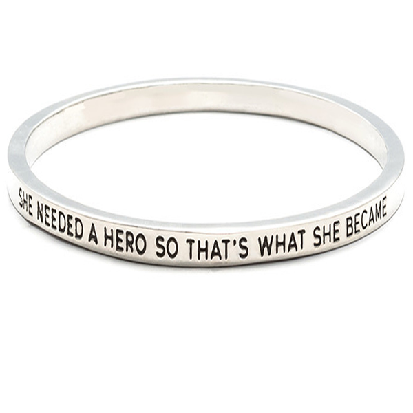 She Needed A Hero Bangle - Florence Scovel - 1