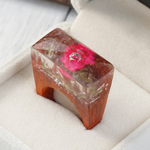 Ethereal Blossom Flower Wood Ring - Florence Scovel - 1