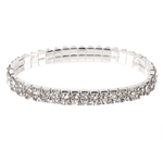 Two Row Crystal Bracelet - Florence Scovel - 1