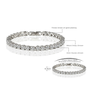 Diamond Eternity Bracelet - Florence Scovel - 5