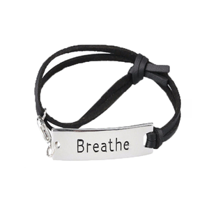 Breathe Leather Strap Bracelet - Florence Scovel - 1