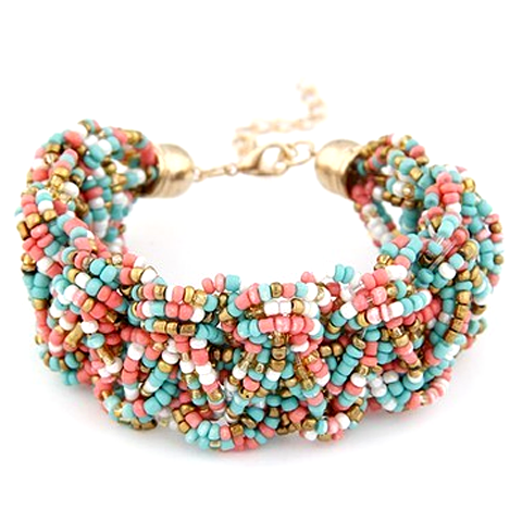 Busy Grained Bracelet - Florence Scovel