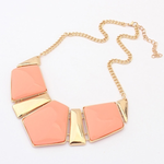 Candy Color Collar Statement Necklace - Florence Scovel - 2