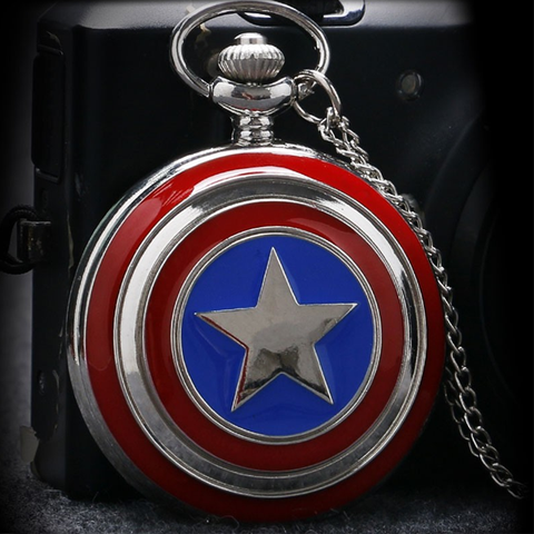Captain America Pocket Watch - Florence Scovel - 1