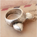Vintage Kitty Love Ring - Florence Scovel - 2