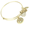 Paw Print Charm Bangle - Florence Scovel - 1