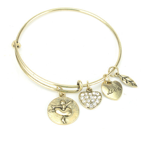 Ballet Love Charm Bangle - Florence Scovel - 1