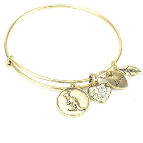 Kangaroo Charm Bangle - Florence Scovel - 1
