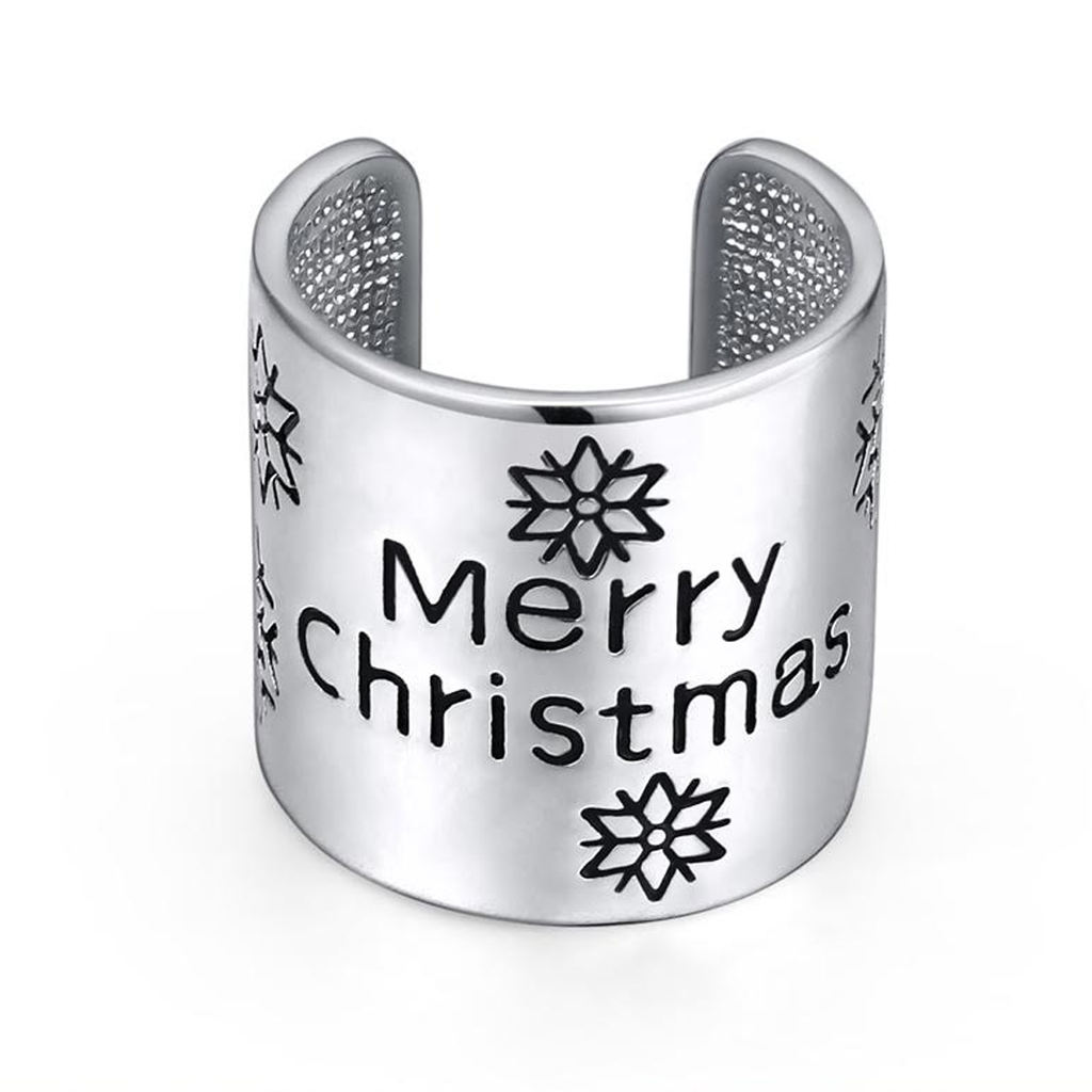 Christmas Cuff Ring - Florence Scovel