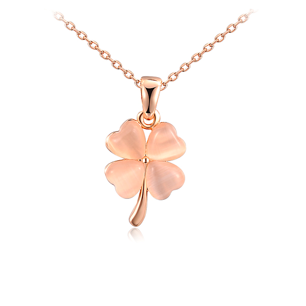 Clover Opal Necklace - Florence Scovel
