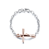 Unisex Cross Chain Bracelet - Florence Scovel - 4