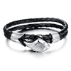 Men's Angels Wing Silver Plated Bracelet - Florence Scovel - 1