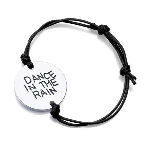 Dance In The Rain Hand Stamped Bracelet - Florence Scovel - 1