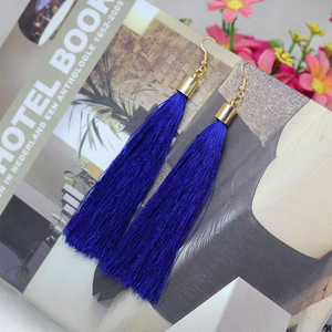 Long Fib Tassel  Earring - Florence Scovel - 3