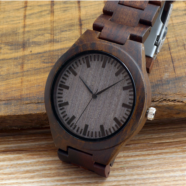 Dark Wood Watch - Florence Scovel - 4