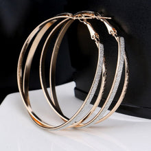 Double Band Stardust Hoop Earrings - Florence Scovel - 3